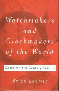Watch and Clock Making and Repairing by W. J. Gazeley (Hardback)