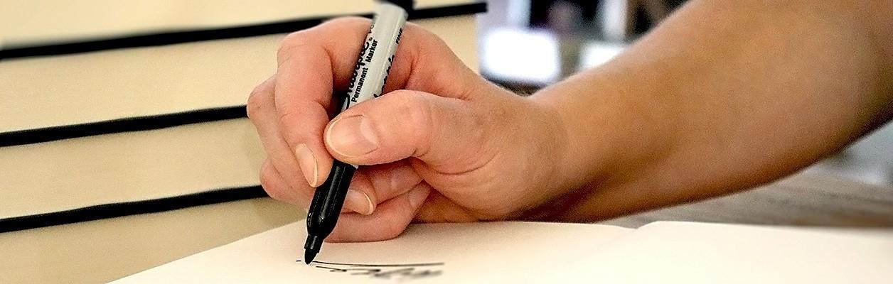 Signed Pre-Order Books
