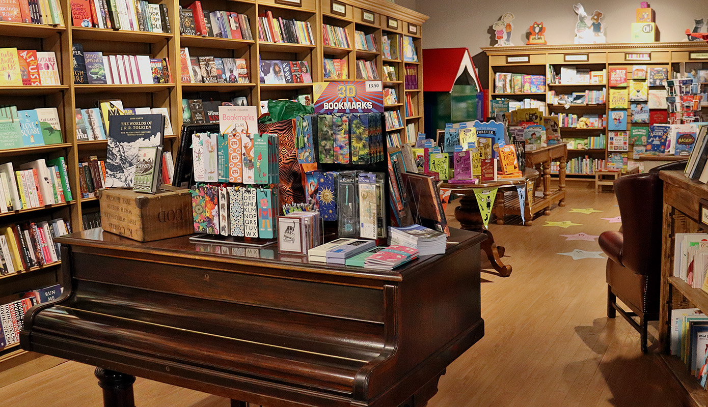 Coles Books, independent book shop in Bicester